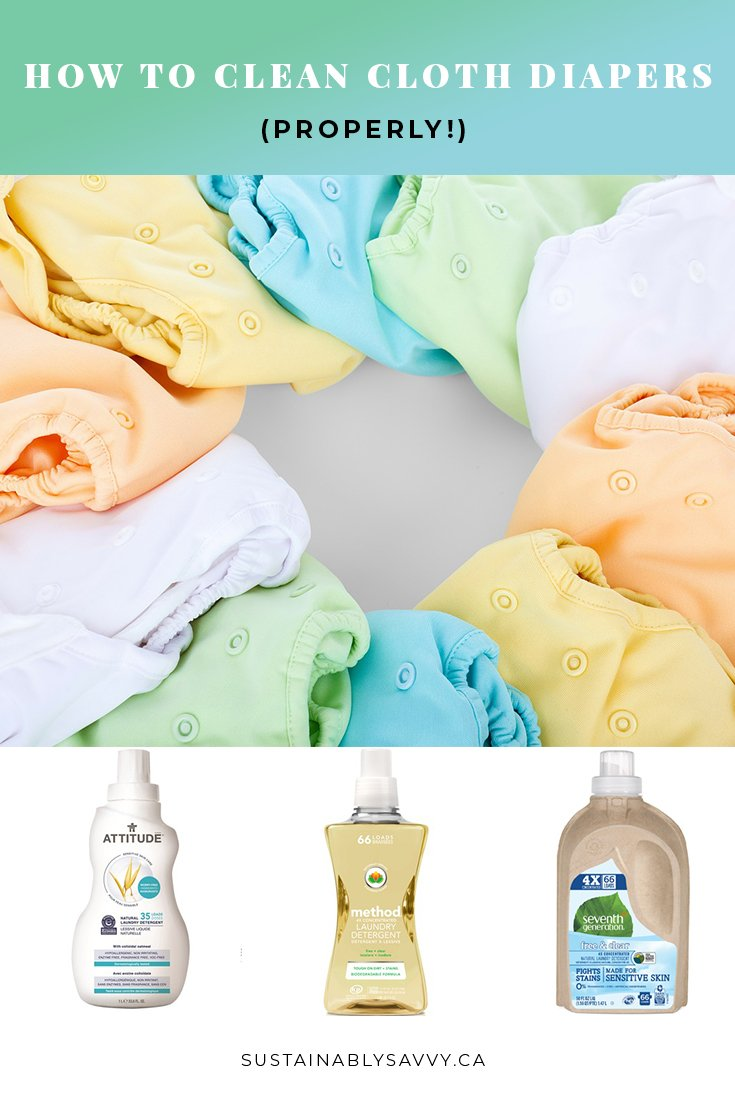 How To Clean Cloth Diapers Sustainably Savvy